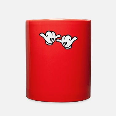 Funny Mickey Mouse mickey mouse signe - Full Color Mug