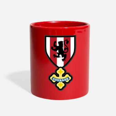 Crest Cowardly crest - Full Color Mug