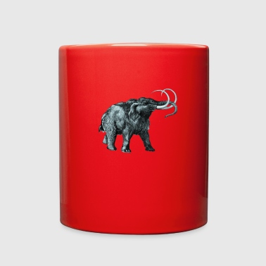 The mammoth, Primal elephants from the past. - Full Color Mug