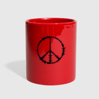 Peace Sign - Full Color Mug