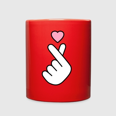 Korean Language Korean Heart - Full Color Mug