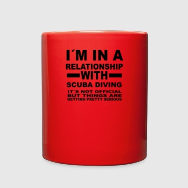 relationship with SCUBA DIVING - Full Color Mug
