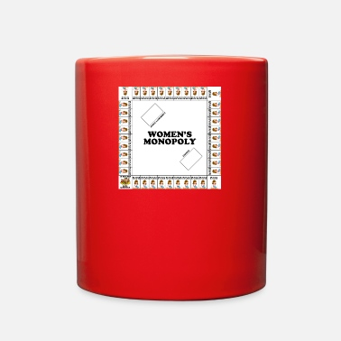 Monopoly Women's monopoly - Full Color Mug