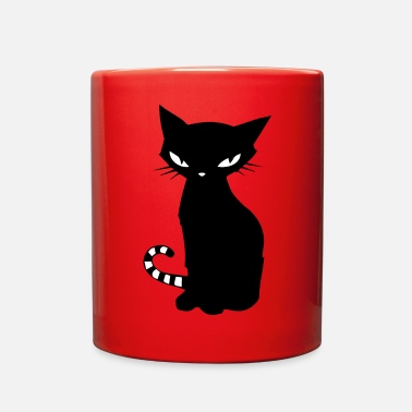 Black Cat Black cat - Full Color Mug