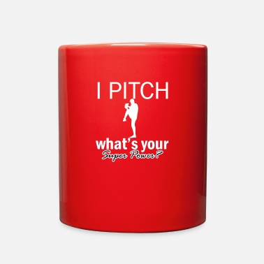 Pitch pitch design - Full Color Mug