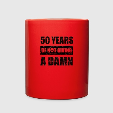 Funny 50th year birthday gift - Full Color Mug