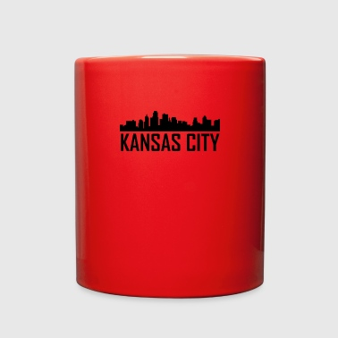 Kansas City Kansas City Kansas City Skyline - Full Color Mug