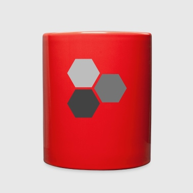 Hexagons - Full Color Mug