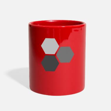 Hexagon Hexagons - Full Color Mug