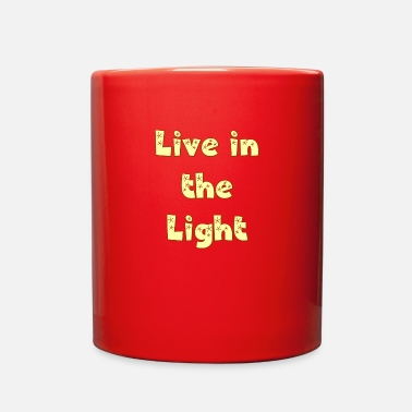 Cool-christian Live in The Light. Be a Cool Christian. - Full Color Mug
