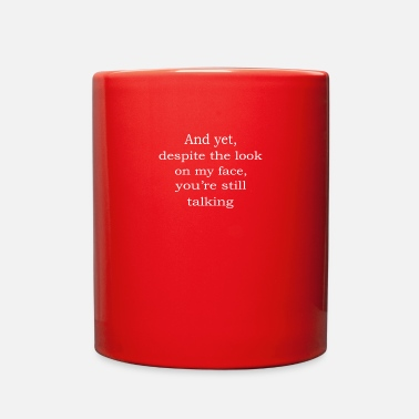 Talk talking - Full Color Mug