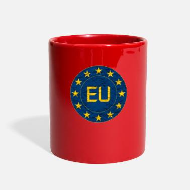 Eu Flag of EU - Full Color Mug