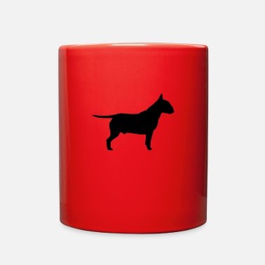 Bull Black Bull Terrier - Full Color Mug