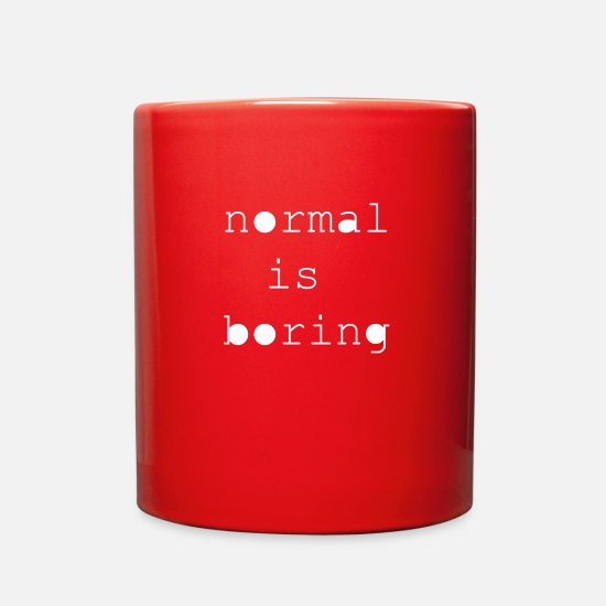 Normal Mugs & Drinkware - normal - Full Color Mug red