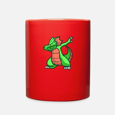 Mythical Dragon, fire, mythical creature - Full Color Mug