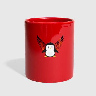 Penguin with Wings - Full Color Mug