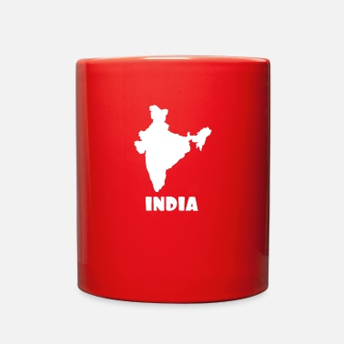 India Map India - Full Color Mug