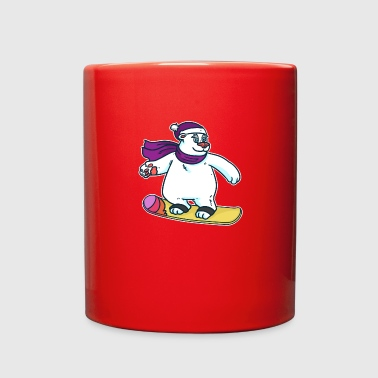 snowboard baer - Full Color Mug