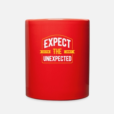 Expecting Expect The Unexpected - Full Color Mug