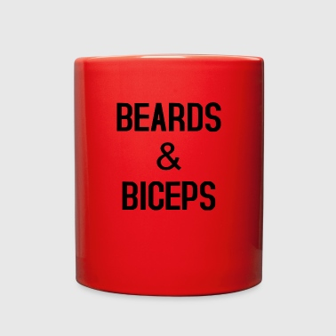 beards and biceps - Full Color Mug