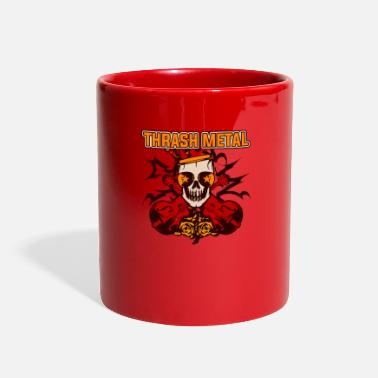Thrash Thrash Metal - Full Color Mug
