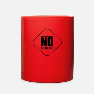 Stress No stress - Full Color Mug