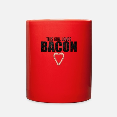 Bacon This Girl Loves Bacon Ham Food Breakfast Gift - Full Color Mug