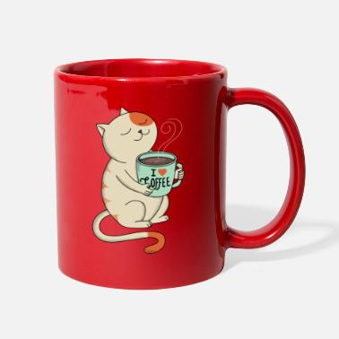Dogs CAT AND COFFEE - Full Color Mug