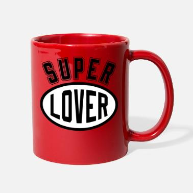Romantic Joke Darling Super Lover - Full Color Mug