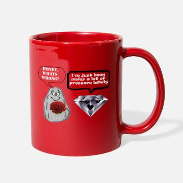 Ring Rock and diamond - Full Color Mug