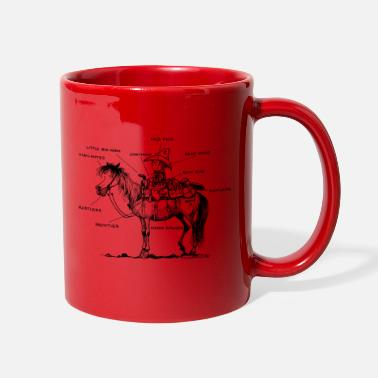 Norman Thelwell Thelwell Learning Western Riding - Full Color Mug