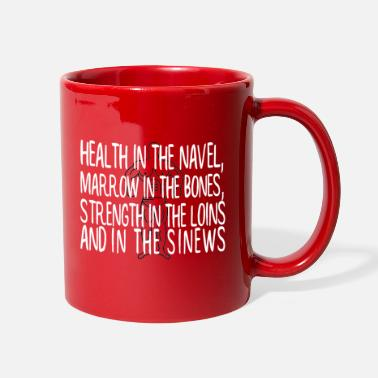 Health Health in the navel - Full Color Mug