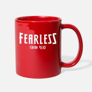 Bible Verse Fearless Is 41:10 Bible Verse, Christian - Full Color Mug