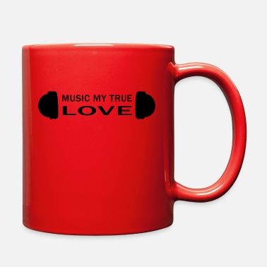 Dubstep Musician love saying techno hip hop pop Present - Full Color Mug