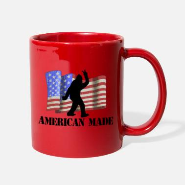 Flag BIGFOOT AMERICAN MADE - Full Color Mug