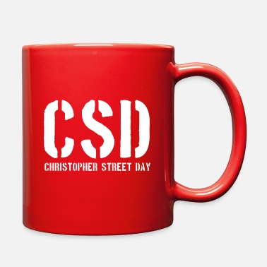 Christopher Street Day CSD - Christopher Street Day - Gay Pride - LGBT - Full Color Mug