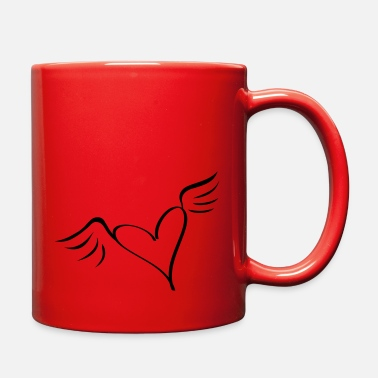 Serce wings - Full Color Mug