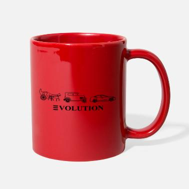 Automobile 3volution of Automobile - Full Color Mug