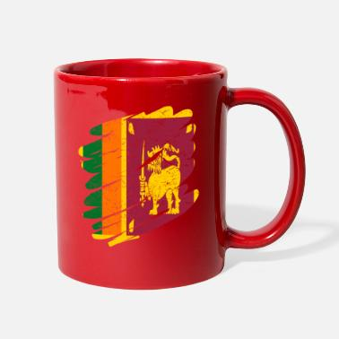 Sri Lanka Pinsel Land Heimat Sri Lanka - Full Color Mug