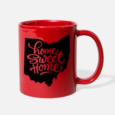 Ohio Ohio Home Sweet Home - Full Color Mug
