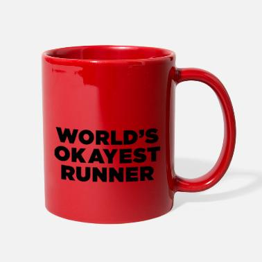 World's Okayest Runner - Full Color Mug