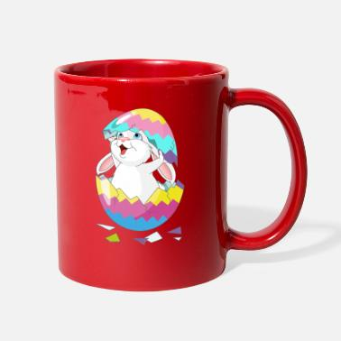Easter Easter Bunny in Egg, Easter egg hatches bunny - Full Color Mug