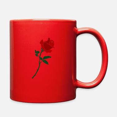 Red Rose red rose - Full Color Mug