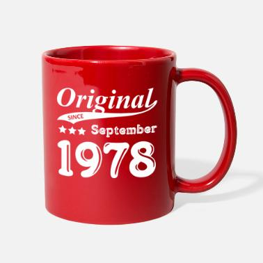 September 1978 Original Since September 1978 Gift - Full Color Mug
