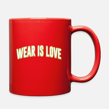 Wear wear is love - Full Color Mug