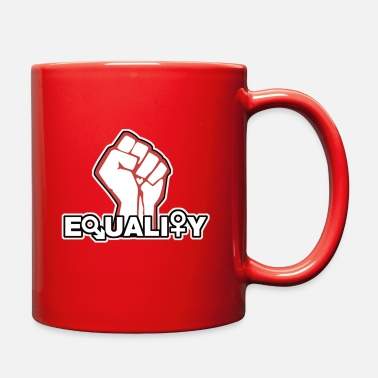 Equalizer Equality - Full Color Mug
