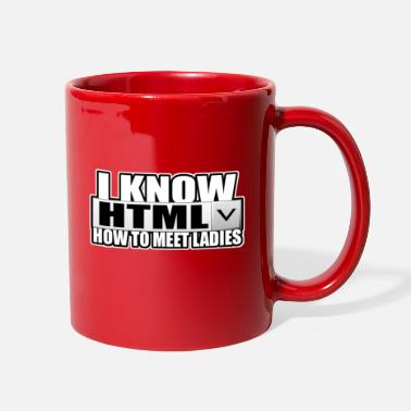 Html Html - Full Color Mug