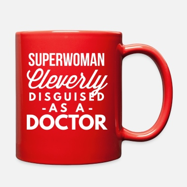 Superwoman Superwoman cleverly disguised as a Doctor - Full Color Mug