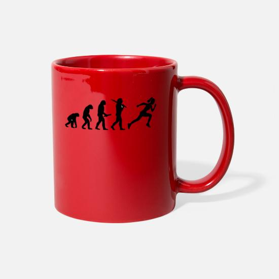 Evolution Mugs & Drinkware - evolution - Full Color Mug red