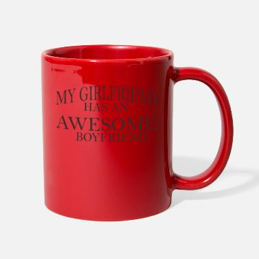 Boyfriend Girlfriend My Girlfriend Has An Awesome Boyfriend - Full Color Mug